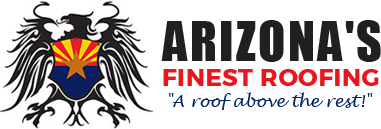 Arizona's Finest Roofing Retina Logo
